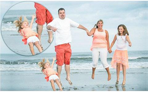 14 bức ảnh gia đình khiến bạn không nhịn nổi cười