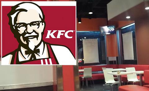 Phim người lớn được chiếu công khai ở KFC