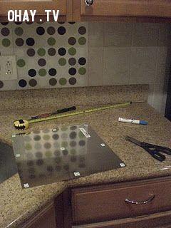 ảnh mẹo nhà bếp,trang trí nhà cửa