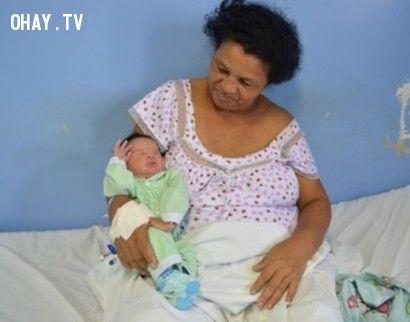 ảnh Brazil,21 đứa con,51 tuổi vẫn sinh con,người phụ nữ có 21 đứa con,phụ nữ brazil,sinh con,thời sự brazil