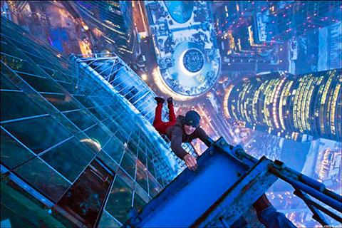 Chảy mồ hôi tay với những bức hình chụp từ trên cao