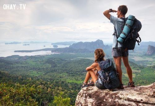 Du lịch cũng nâng cao và rèn luyện sức khỏe