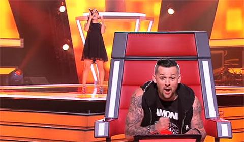 The Voice Australia - nút bị hỏng khiến giám khảo nhấn cả chục lần không được