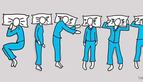 Tư thế ngủ tiết lộ bí mật về tính cách bạn