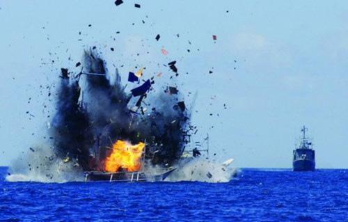 Indonesia đánh chìm 1 tàu cá Trung Quốc để xoa dịu dư luận