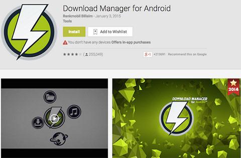 5 ứng dụng siêu tăng tốc download cho smartphone