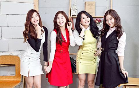 Ra mắt nhóm LIME gồm bốn thành viên nữ theo mô hình K-pop