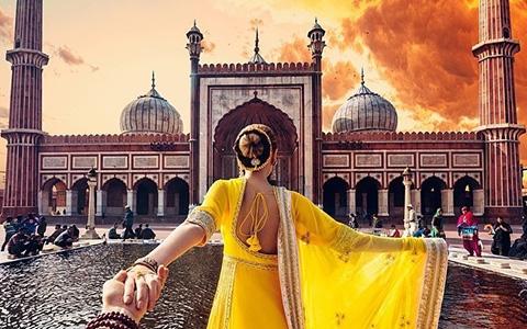 """Chàng nhiếp ảnh gia \""""Follow Me\"""" cùng bạn gái anh ấy tại Ấn Độ, và đây là những bức ảnh tuyệt vời của họ"""