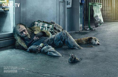 hãy thể hiện lòng nhân ái với những người vô gia cư