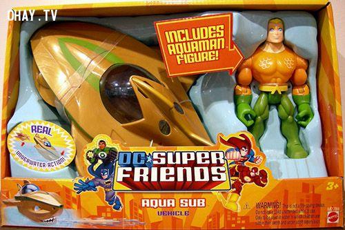Aquaman aqua sub