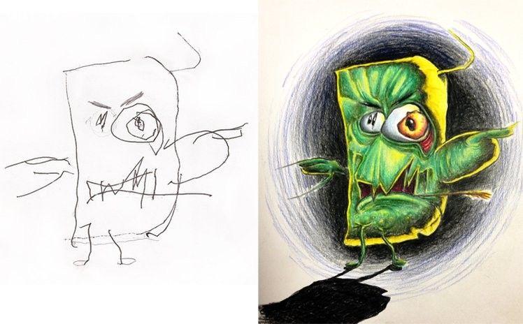 ảnh Fred Giovannitti,nghệ sĩ xăm,tranh vẽ,sáng tạo,nghệ thuật,con cái,cha mẹ