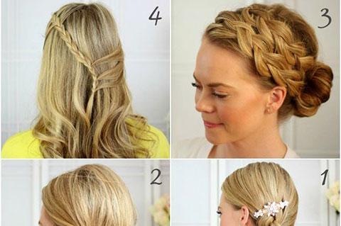 20 kiểu tóc tết tuyệt đẹp cho các cô gái