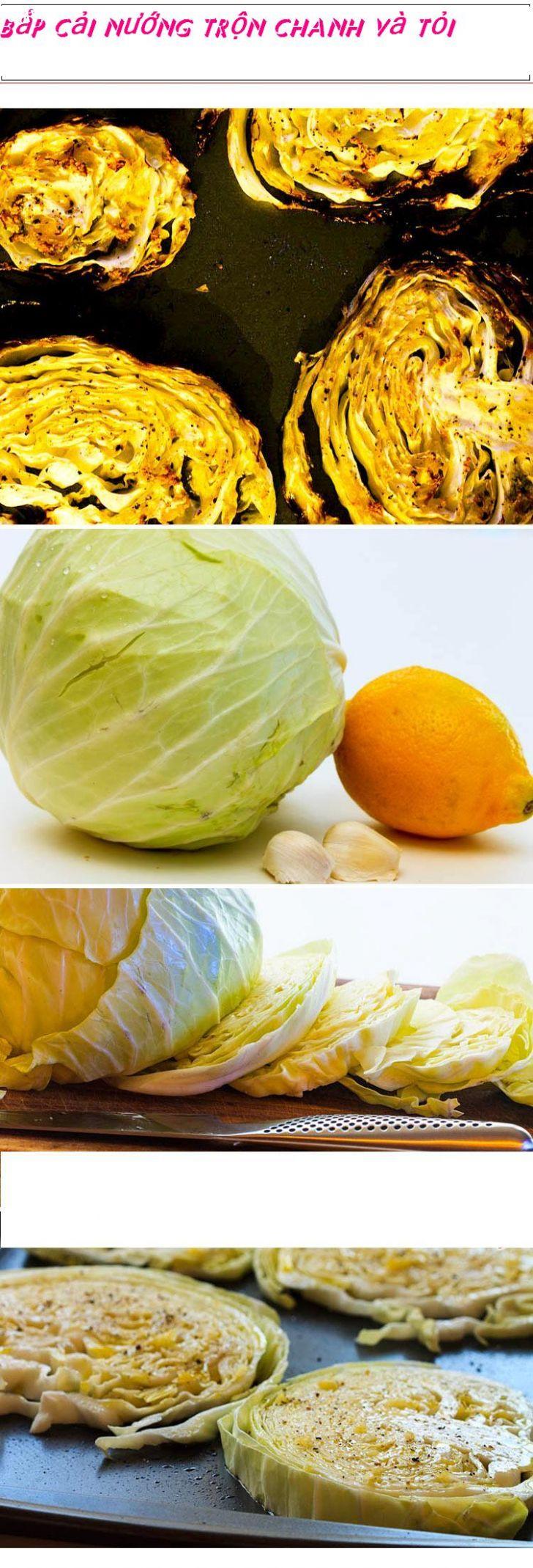 ảnh bắp cải,nấu nướng,bắp cải nướng,hướng dẫn nấu ăn