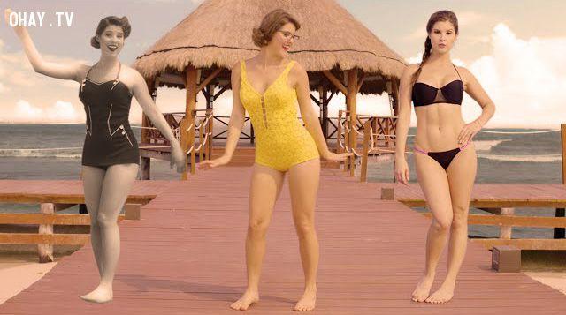 ảnh bikini,Amanda Cerny,bikini ngày ấy bây giờ,ngày ấy bây giờ,bikini qua các thời kỳ