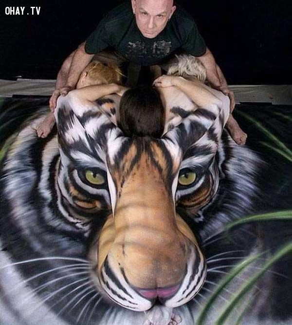 ảnh body painting,body art