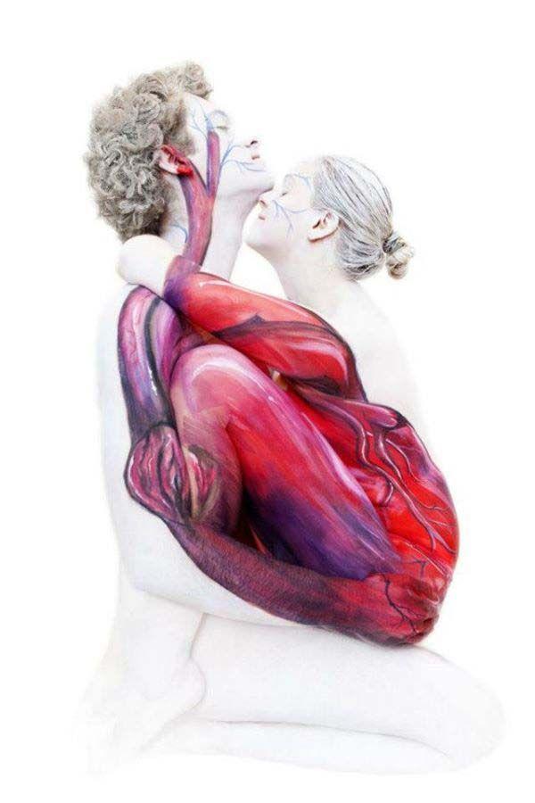 ảnh body painting,body art