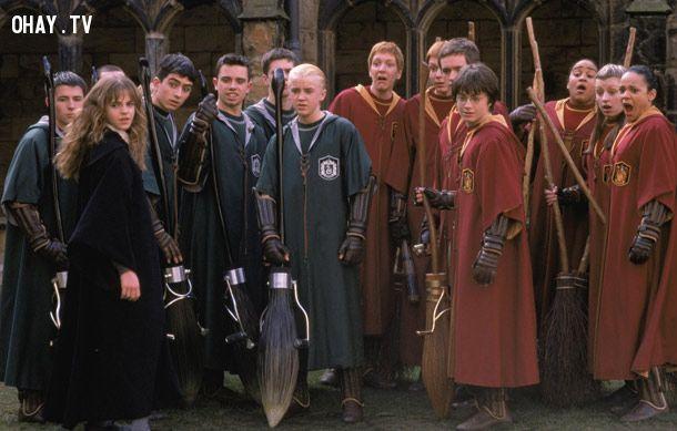 ảnh Harry Potter,Hogwarts,bí mật,Ron Weasley,bí mật về harry potter,có thể bạn chưa biết