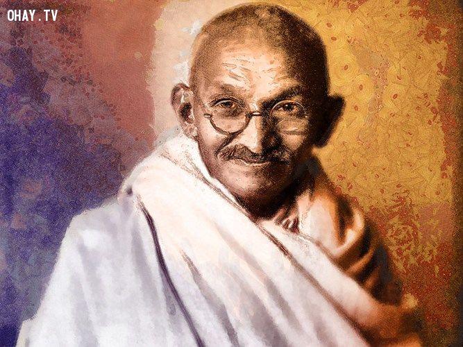 ảnh câu nói hay,triết lý sống,mahatma gandhi,triết lý mahatma gandhi