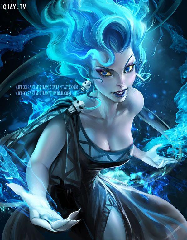 Cô nàng Hades quyền năng