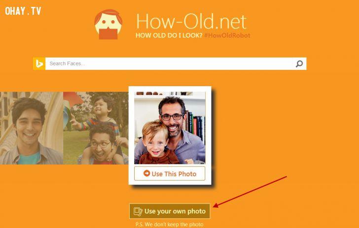 ảnh trò chơi đoán tuổi,trò đoán tuổi,nhận diện khuôn mặt,game hay,trò chơi hay,ứng dụng đoán tuổi