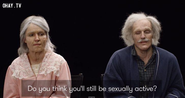 ảnh cảm động,tình yêu,clip tình yêu khi về già,video cảm động