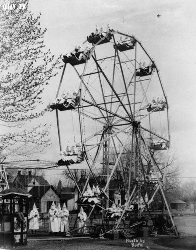 Một lễ hội hóa trang kỳ lạ tại Canon City (năm 1925).