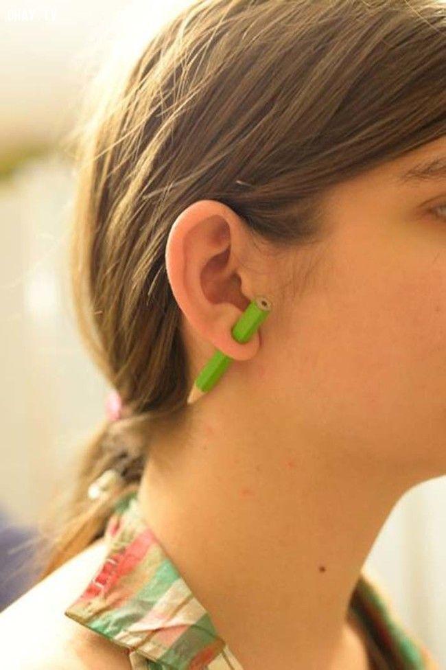 ảnh bông tai handmade,khuyên tai handmade,tự làm bông tai,tự làm khuyên tai,mẹo hay