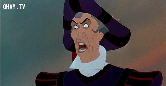 disney beautiful Claude Frollo