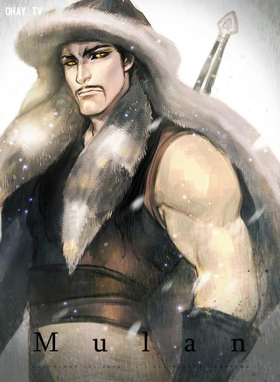 disney beautiful Shan Yu