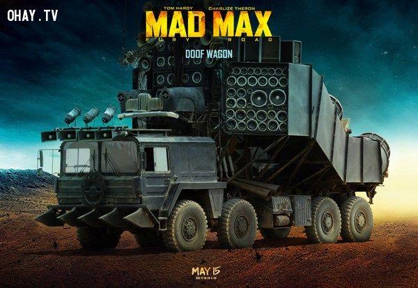Xe độc trong Mad Max