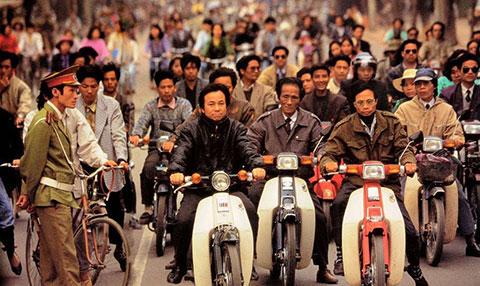 Chùm ảnh về giao thông Hà Nội những năm 90
