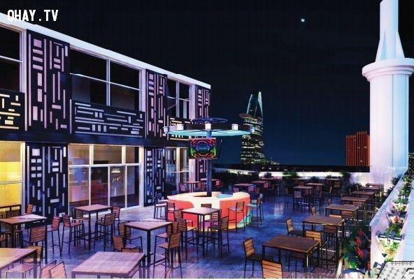 ảnh quán bar sài gòn,quán bar đẹp,quán bar có view đẹp,du lịch sài gòn,sài gòn về đêm