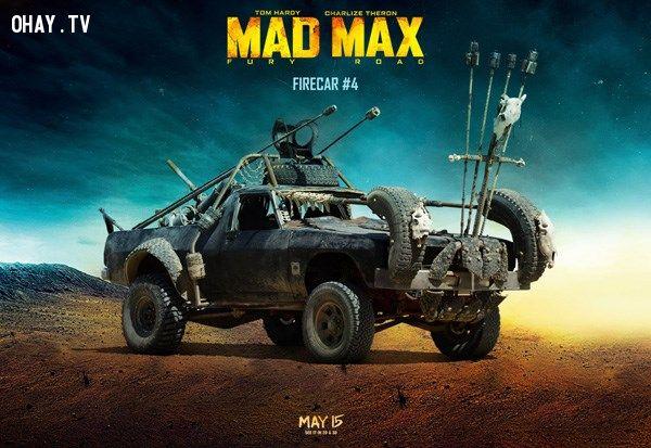ảnh xe độc,xe trong mad max,chiêm ngưỡng xe,xe độ mad max