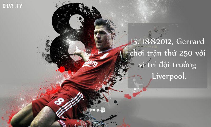 Steven Gerrard đội trưởng