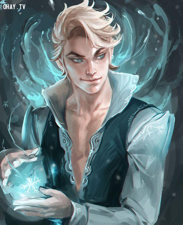 Chàng Elsa với nụ cười quyến rũ