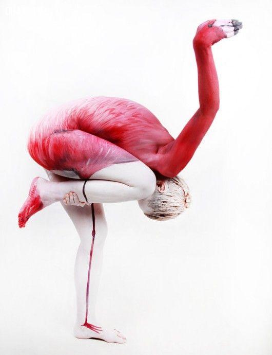ảnh Body painting,Ms. Mardevel,nghệ thuật vẽ trên cơ thể,nghệ thuật Body Painting