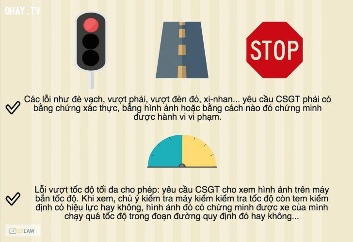 ảnh cảnh sát giao thông,luật giao thông,làm gì khi csgt dừng xe