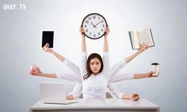 Phân chia thời gian đúng giờ cho một ngày