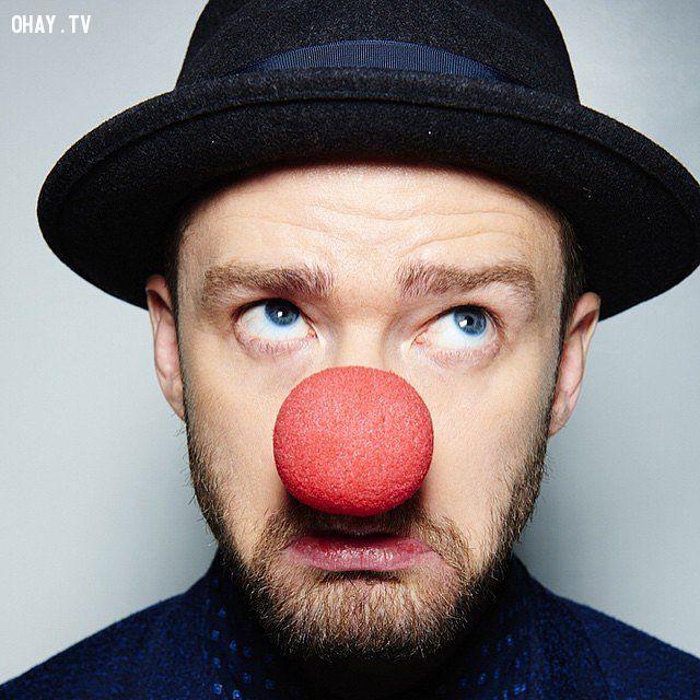 ảnh red nose day,sao thế giới