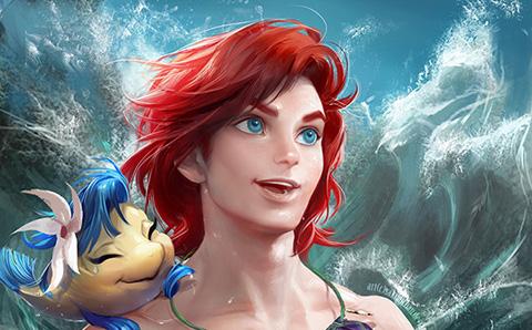 Các nhân vật Disney chuyển giới sẽ thế nào?