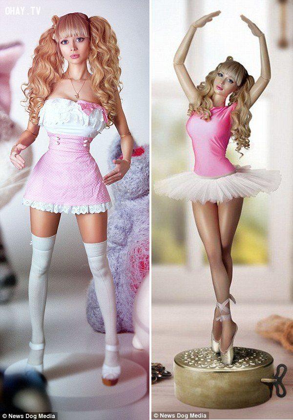 ảnh Angelica Kenova,búp bê sống,cô gái có thân hình như búp bê