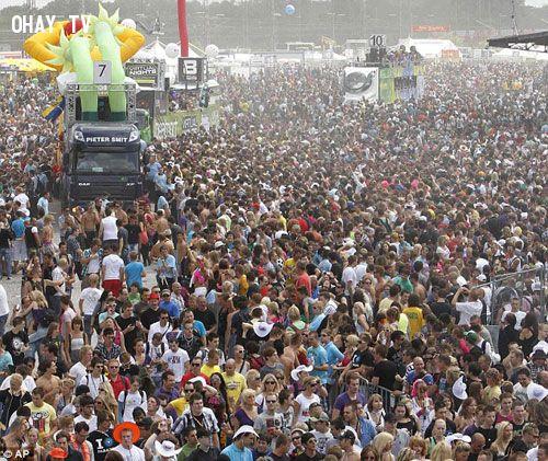 Lễ hội love parade nước đức