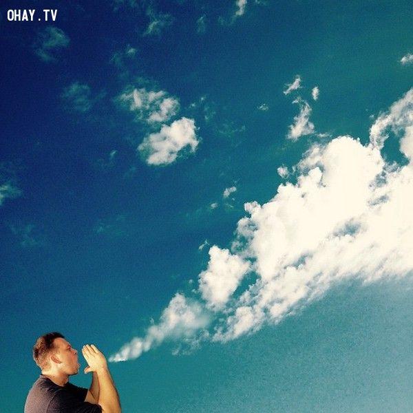 ảnh sáng tạo,nhiếp ảnh,chụp ảnh ngẫu nhiên,ảnh ngẫu nhiên,ảnh khoảnh khắc,Use The Clouds