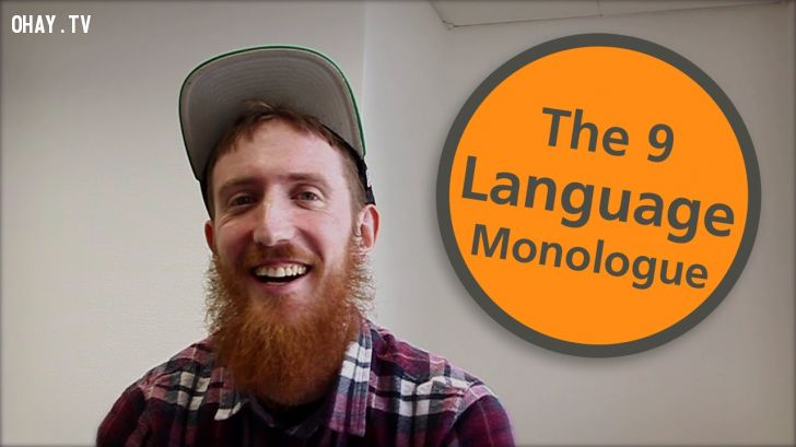 ảnh 9 ngôn ngữ,Matthew Youlden,nói được nhiều thứ tiếng,giỏi ngoại ngữ