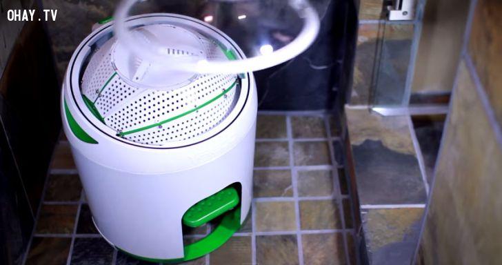máy giặt không dùng điện