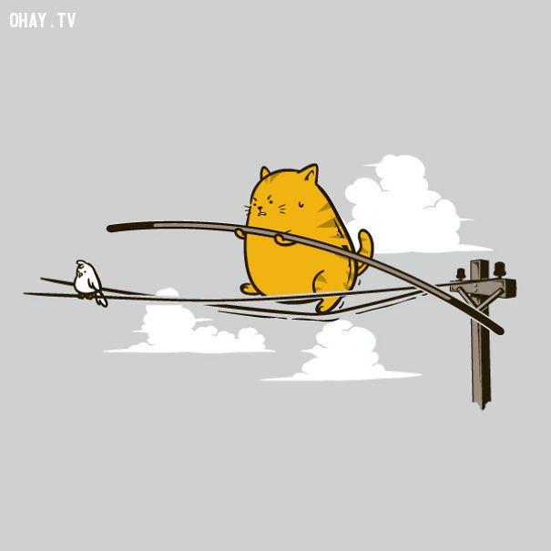 Ảnh Hài Hước,Hình Ảnh Mèo Dễ Thương,Hình Vẽ Mèo,Tranh Vẽ