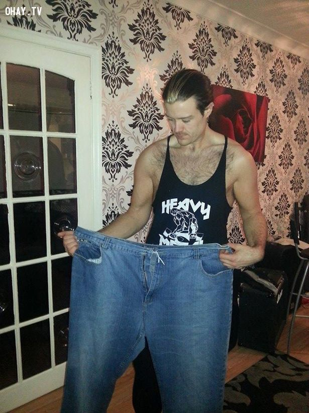 ảnh theo đuổi ước mơ,người đàn ông giảm hơn 80kg,ngôi sao nhạc Rock,Rick Snowdon,The Voice,giảm cân