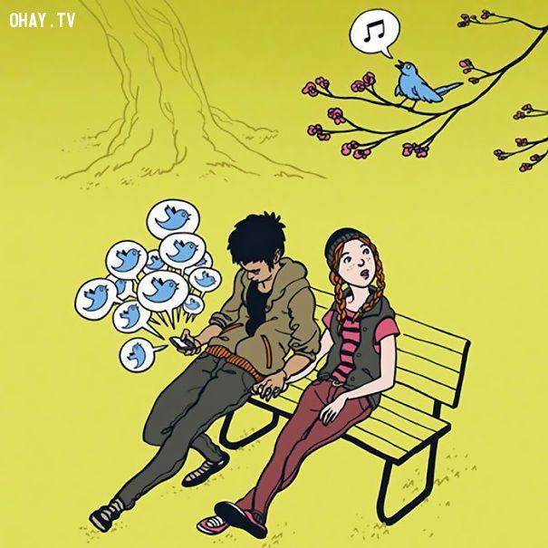 ảnh ý nghĩa,công nghệ,hiện thực,thời đại công nghệ,tranh vẽ,tranh vẽ hiện thực xã hội,hiện thực xã hội