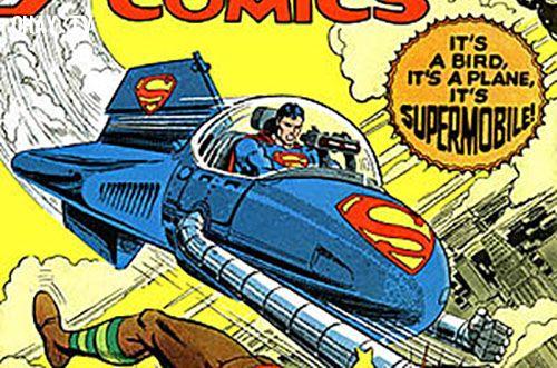 Superman action comics supermobile