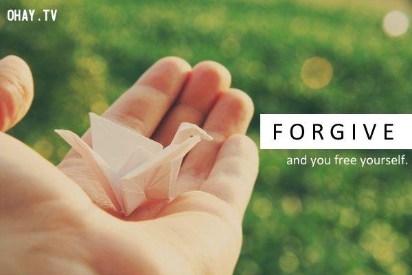 Tha thứ để hạnh phúc